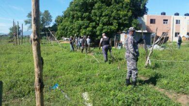 Photo of Realizan desalojo en terrenos de la Dirección General de Frontera en Dajabón