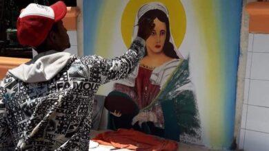 Photo of Apresan dos supuestos evangélicos en San Juan por embarrar imagen de la Virgen Santa Lucía