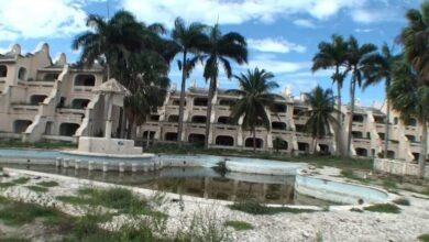 Photo of Primer resort construido en zona Norte se encuentra en ruinas ante indiferencia de autoridades y empresarios