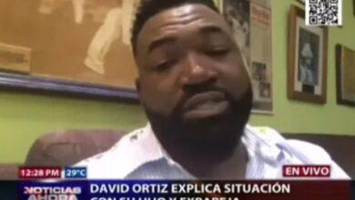 Photo of David Ortiz y expareja llegan a un arreglo