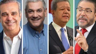 Photo of Conozca dónde votarán los principales candidatos presidenciales de RD