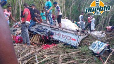 Photo of Al menos cinco muertos y tres heridos dejó accidente de tránsito en Barahona
