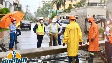 Photo of Edesur normaliza el 97.5% de clientes afectados por la tormenta Laura
