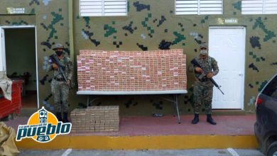 Photo of Ejército incauta 1,446 paquetes de cigarrillos ilegales en San Juan
