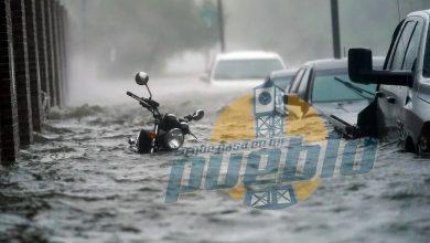 Photo of Huracán desata inundaciones al depositar casi 25 pulgadas de lluvia