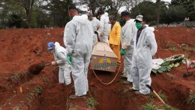 Photo of Brasil registra 309 muertes en un solo día y el total roza las 151.000