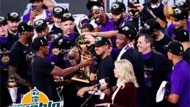 Photo of Lakers conquistan corona 17; LeBron James nombrado jugador mas valioso