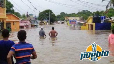 Photo of Onamet mantiene alerta meteorológica para siete provincias del país por posibles inundaciones