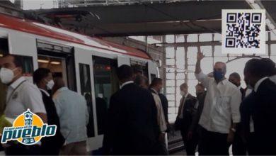Photo of Presidente Abinader conoce el Sistema Transporte Integrado Metro-Teleférico