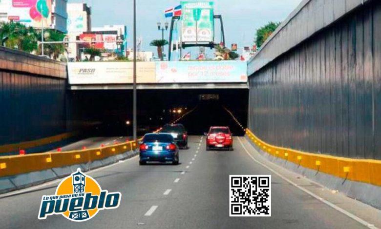 Photo of Obras Públicas dará mantenimiento a túneles de la capital a partir de este viernes