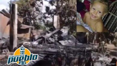 Photo of LA VEGA: Niña de dos años muere calcinada al incendiarse su vivienda