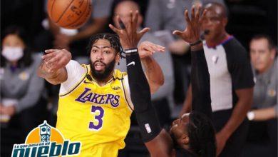 Photo of James y Davis ponen a los Lakers a un triunfo del título de campeones