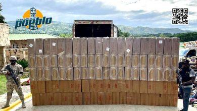 Photo of Cesfront detiene en Elías Piña camión con 4 millones de cigarrillos de contrabando