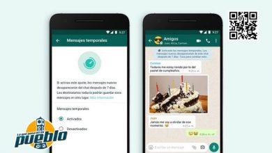 Photo of Los nuevos mensajes temporales en WhatsApp y otros clics tecnológicos