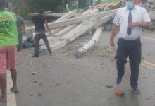 Photo of accidente con un fallecido asta el momento en Altamira  puerto plata