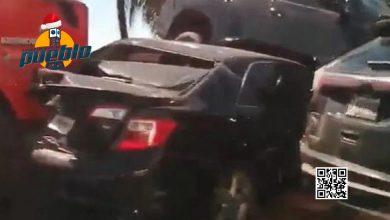 Photo of Se registra accidente múltiple en autopista Las Américas