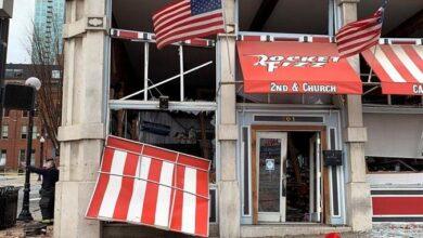 Photo of Una explosión en Nashville vino de un vehículo que avisaba de una bomba