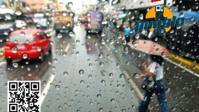 Photo of Meteorología prevé lluvias dispersas para este domingo