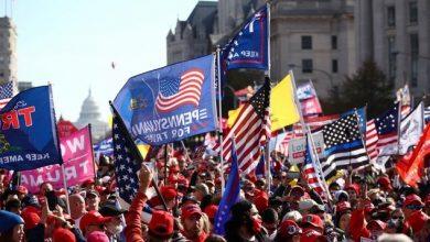 Photo of EE.UU.: Miles de partidarios de Trump salen a las calles a reclamar su victoria