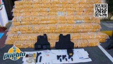 Photo of Autoridades ocupan más de una tonelada de presunta cocaína, armas, y pertrechos militares en Puerto Caucedo