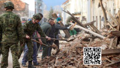 Photo of Captan en vivo el momento en que una réplica interrumpe la entrevista al alcalde de la ciudad más afectada por el sismo en Croacia