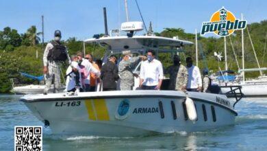 Photo of Comandante general Armada hace recorrido por zona naval norte