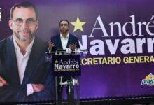 Photo of Andrés Navarro presenta candidatura para la secretaría general del PLD