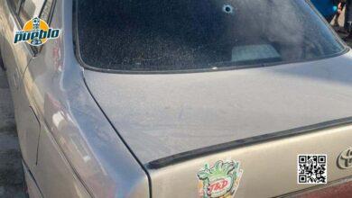 Photo of Desconocidos tirotean vehículo de primer teniente de la Policía Nacional en La Vega