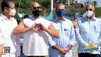 Photo of Vin Diesel se reúne con el presidente Abinader en Puerto Plata