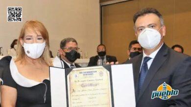 Photo of Juramentan a Laura Sánchez como primera presidenta del Colegio de Notarios