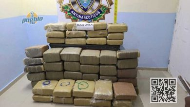 Photo of Incautan 480 libras de marihuana en Santo Domingo Este