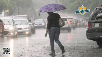 Photo of Meteorología prevé lluvias dispersas para este jueves