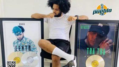 Photo of El urbano Nfasis gana disco de platino y su 3er disco de oro