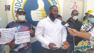 Photo of SOMOS  PRM EL QUE TRABAJA MERECE En Montecristi DJ Cristian encabeza reclamo de empleos al gobierno Dominicano