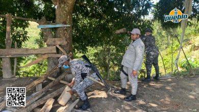 Photo of Policía desmantela galleras clandestinas en distrito municipal de Juan Adrián y comunidad El Verde