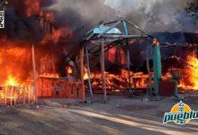 Photo of Incendio arrasa con varias casetas turísticas en Playa Buen Hombre