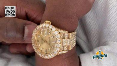 Photo of Floyd Mayweather le regala un reloj de 45.000 dólares a su nieto de un mes de nacido