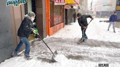 Photo of lobalesNew York Recuerdan a dominicanos sobre multas en NYC por acumulación de nieve frente a edificios