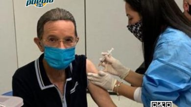 Photo of Aplican segunda dosis de vacuna contra el Covid a Amable Aristy