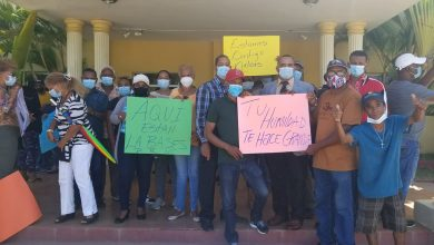 Photo of Montecristeños apoyan y se solidarizan con gobernadora Nelsy Nelsy Milagros Cruz