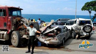 Photo of Accidentes dejan 300 personas muertas en lo que va de año; Gobierno invierte RD$700 mil por paciente