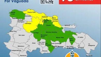 Photo of COE aumenta a 13 las provincias en alerta por lluvias