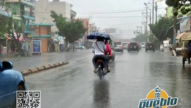 Photo of Vaguada continuará provocando aguaceros en varias provincias