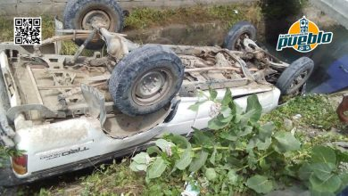 Photo of Un fallecido y cuatro heridos tras accidentarse camioneta en Baní