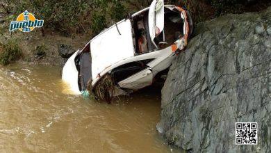 Photo of Crecida del río Cana en Jobo de Palmarejo causa arrastre de vehículo