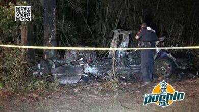 """Photo of """"Sin nadie al volante"""": accidente de un vehículo Tesla deja dos fallecidos"""