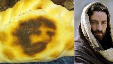 Photo of Familia asegura que se les apareció el rostro de Jesús en una empanada