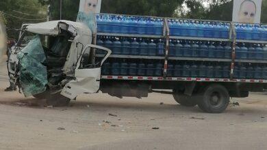 Photo of Aparatoso accidente en el tramo carretero Villa sinda Villa Vázquez