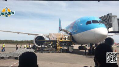 Photo of Llegaron las vacunas: el avión ya aterrizó en el aeropuerto de Las Américas