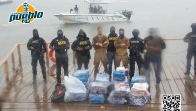 Photo of Interceptan lancha con 488 paquetes de cocaína